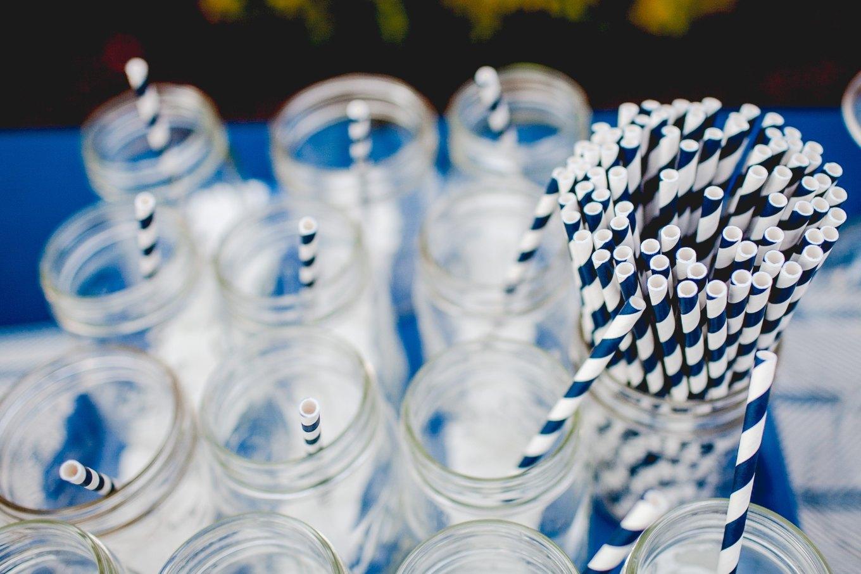 Image of plastic straws