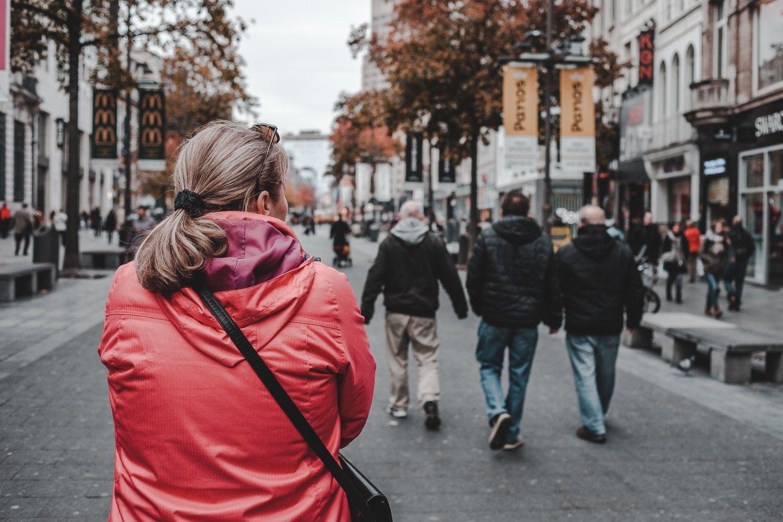 Image of a walking  tour
