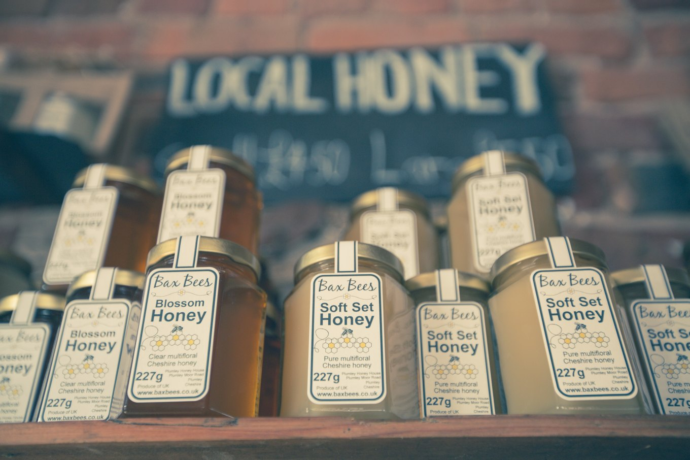 Image of local products honey