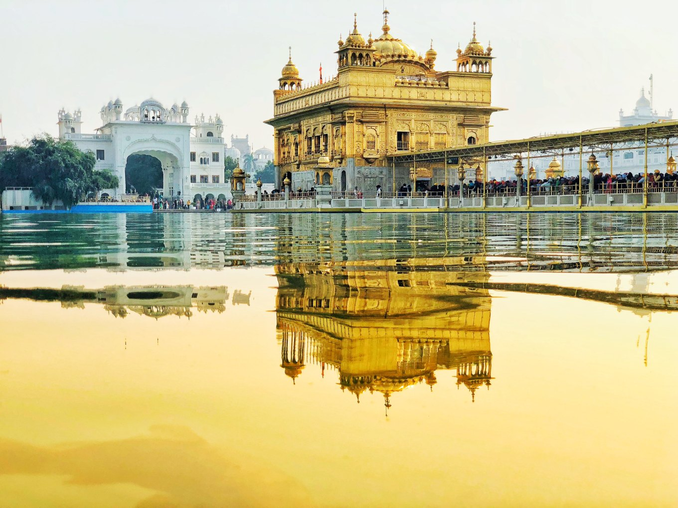 Image of Golden Temple in Amritsar, India
