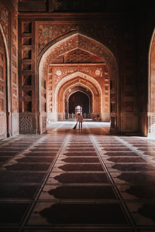 Image of a UNESCO World heritage site 'Agra Fort'