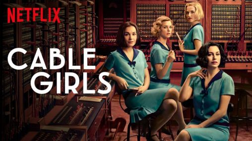 "Image of Netflix's ""Cable Girls"""