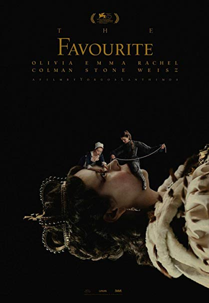 "Poster Image of ""The Favourite"""